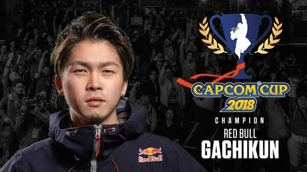 Capcom Cup 2018 Champion Gachikun