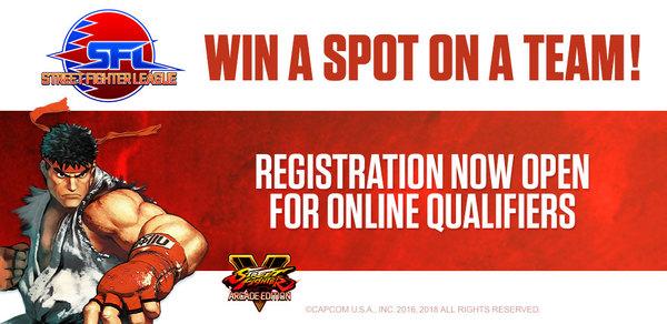 SFL Online Qualifier