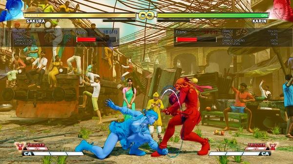 Street Fighter V: Arcade Edition - Frame Data