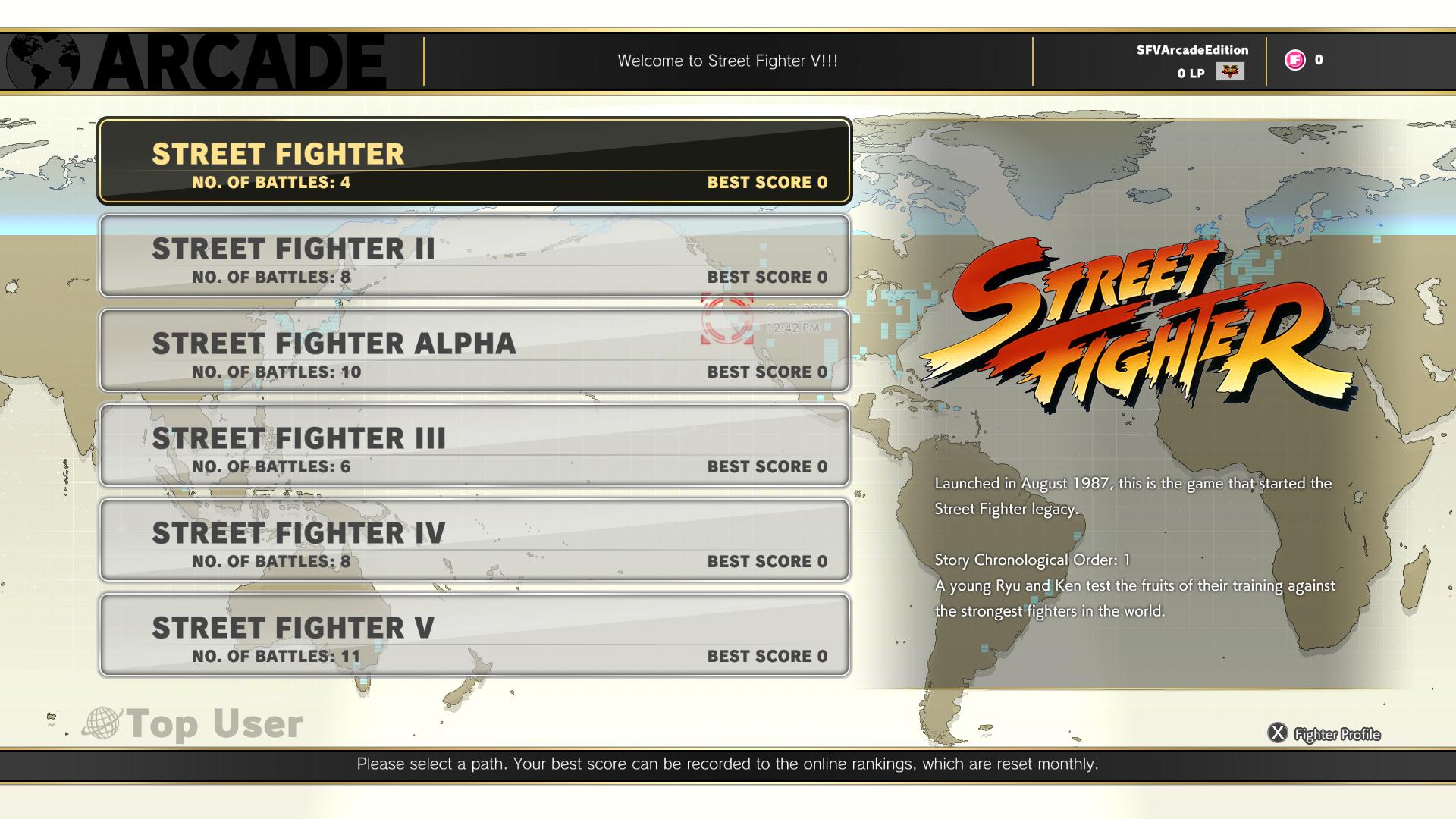 Street Fighter V: Arcade Edition – Modo Arcade do jogo terá mais de 100 finais