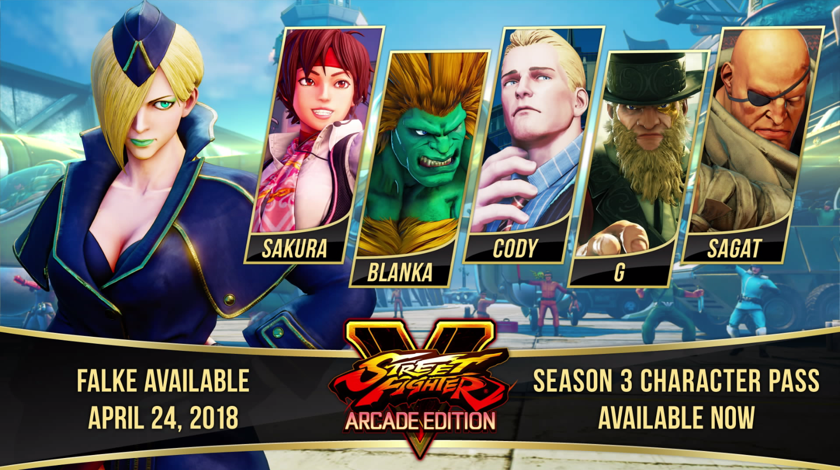 Street Fighter V character pass